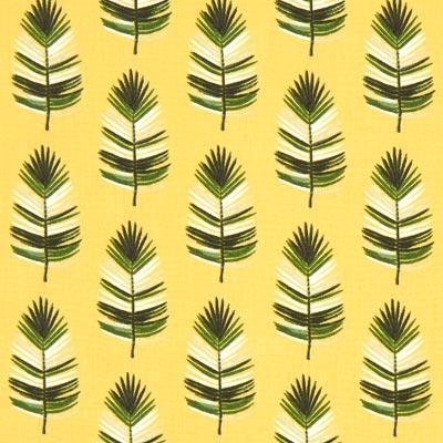 Cretonne Veer Cazen – geel