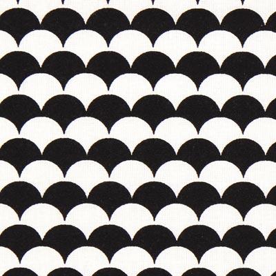 Cretonne Bogen Ecay 6 – zwart/wit