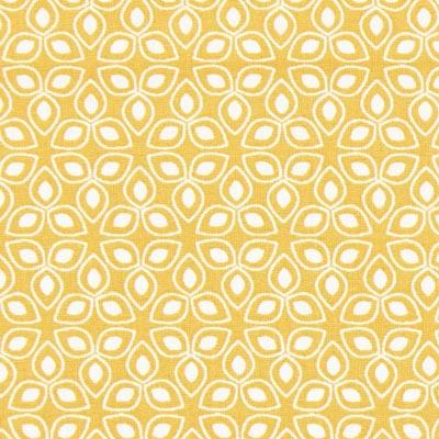 Kaduna Leaves Cretonne 2 – mustard