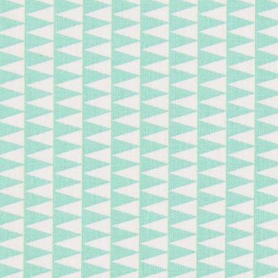 Cretonne Kano 4 – wit/mintgroen