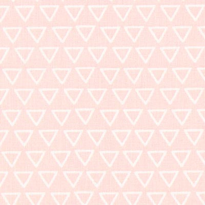 Nasua Triangles Cretonne 1 – light pink