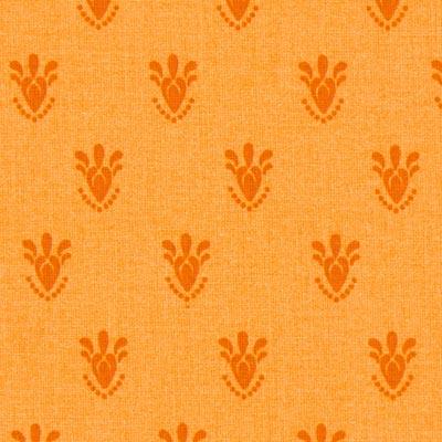 Cretonne Persem – oranje