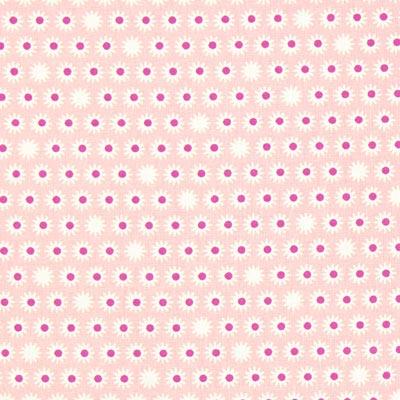 Cretonne Bloempjes Pik 2 – roze