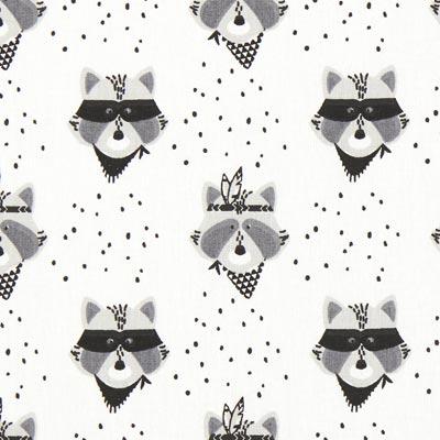 Kretong Tvättbjörnsbanditer – vit
