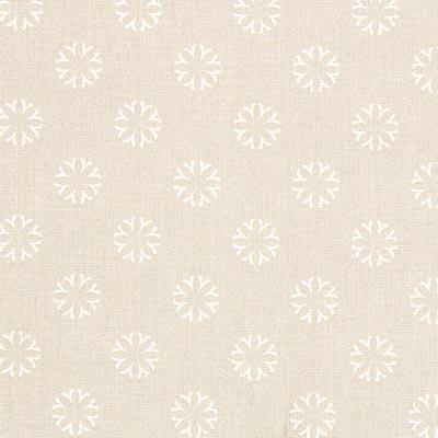 Cretonne Bloemen Contour Seiflo 2 – beige