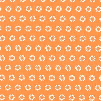 Cretonne Zonnestralen Wim 5 – oranje