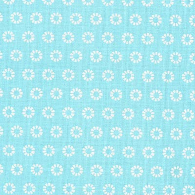 Cretonne Zonnestralen Wim 8 – aquablauw