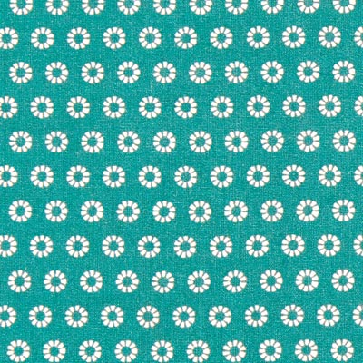 Cretonne Zonnestralen Wim 10 – groen