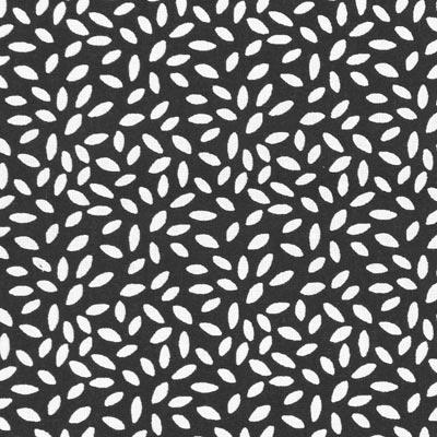 Cretonne Rijstkorrel Stili – zwart