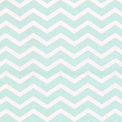 Cretonne Zigzag Tezy 1 – mintgroen