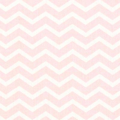 Cretonne Zigzag Tezy 2 – roze