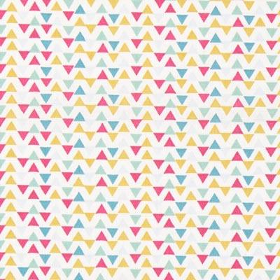 Cretonne Driehoeken Triga 2 – beige