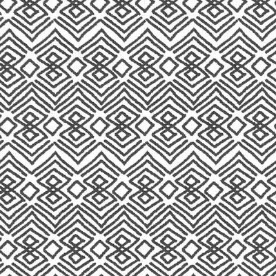 Cretonne Zumbo – wit/zwart