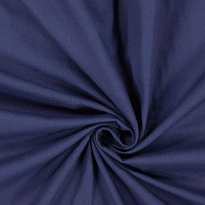Hosenstoff Doppelgewebe – blau