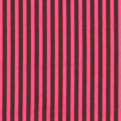 Gestreepte stof - pink bruin