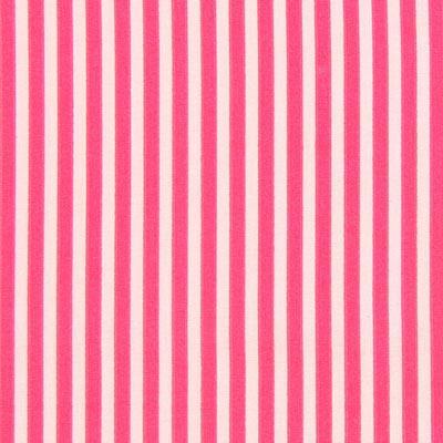 Gestreepte stof - pink rosa