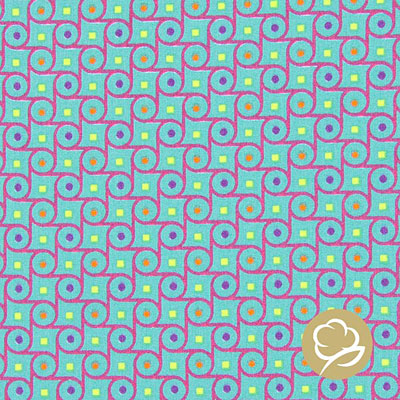 Tula Style - Circles - türkis