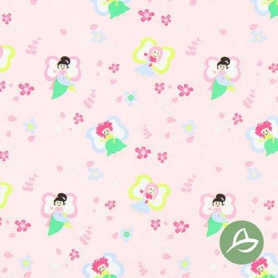 Tula Feeën biologische katoen GOTS – roze