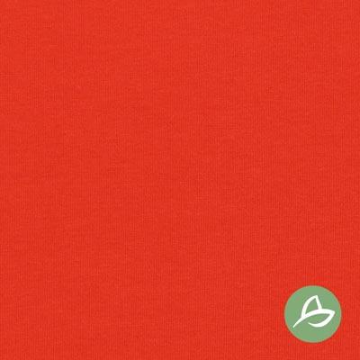 Tula Organic Jersey – signal red - GOTS certified