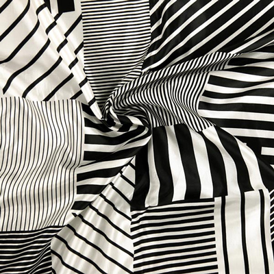 Fodera Cubist Stripes 1
