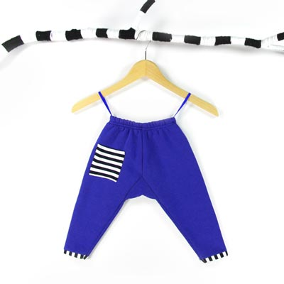Nähpaket Cosy pants blau