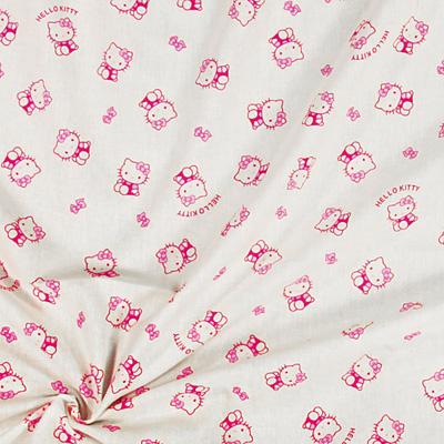 Tecidos Hello Kitty: O tecido de sonho de qualquer menina.