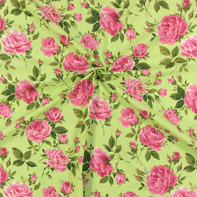 Nové dekorační látky s růžemi: Nejen pro romantiky