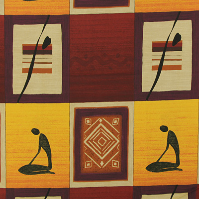 Tissus décoratifs africains : tissus gaies pour la maison