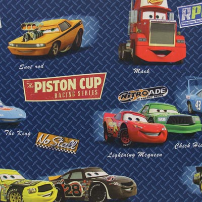 Disney Cars Tela de oscurecimiento Soft 4