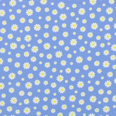 Furnishing Fabric Daisies