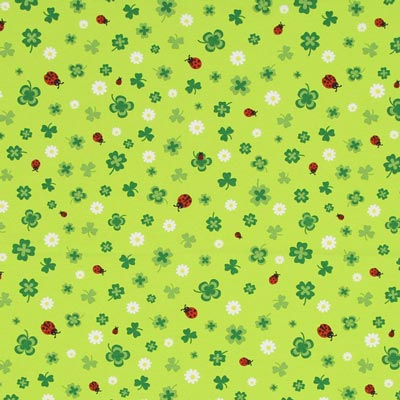 Shamrock Decor Fabric – apple green