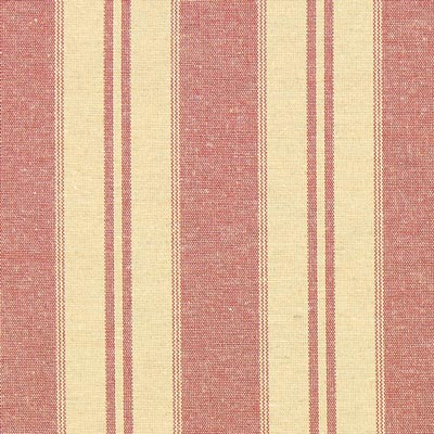Stripes Christmas Fabric – light red