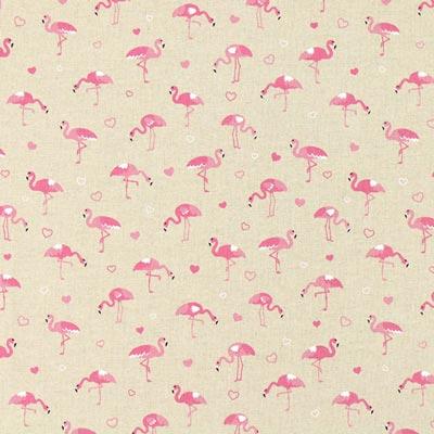 Furnishing Fabric Nature – Flamingos