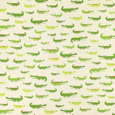 Decostof Natuur – Krokodillen