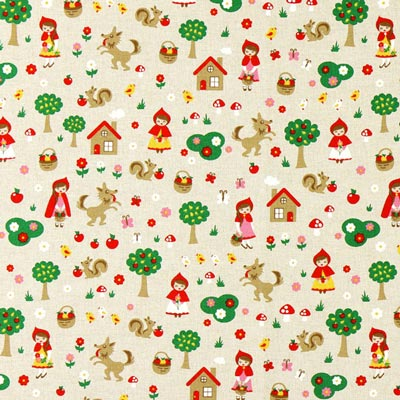 Furnishing Fabric Nature – Little Red Riding Hood