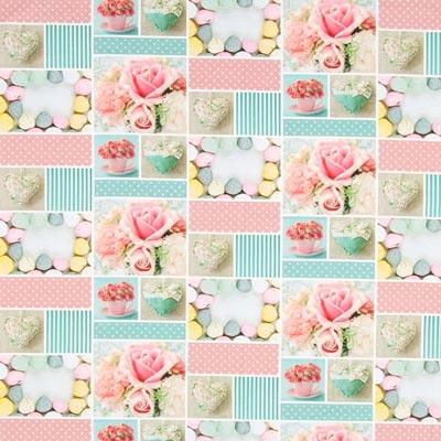 rosenstoffe bunt bei rosenstoffe bunt als meterware billig im online. Black Bedroom Furniture Sets. Home Design Ideas