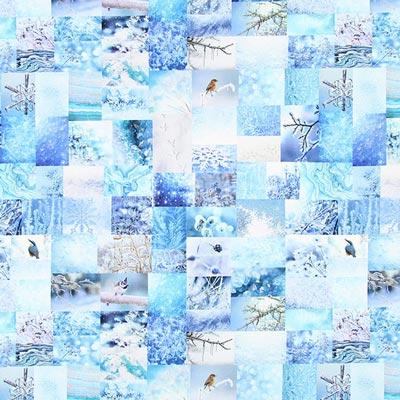 Halbpanama Winter – hellblau
