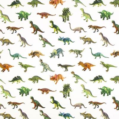 Panama Media Dinosaurio – blanco lana