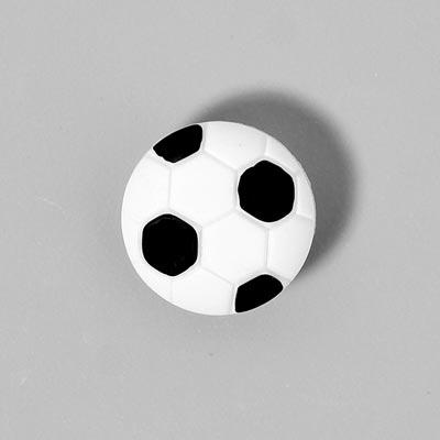 Kunststoffknopf, Fußball 12