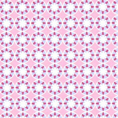 Jersey Portofino Bloemen 1 – roze | Gütermann