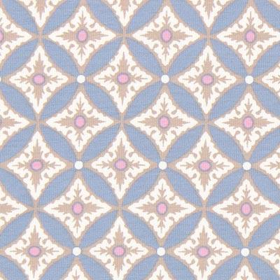 Jersey Portofino Ornament 1 – duifblauw, Gütermann