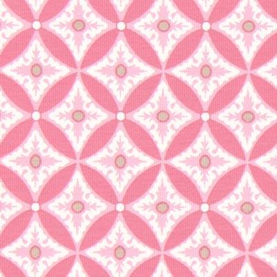 Jersey Portofino Ornament 2 – rosa | Gütermann