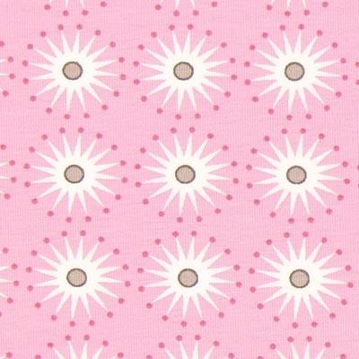 Jersey Portofino Starcircle – rosa | Gütermann
