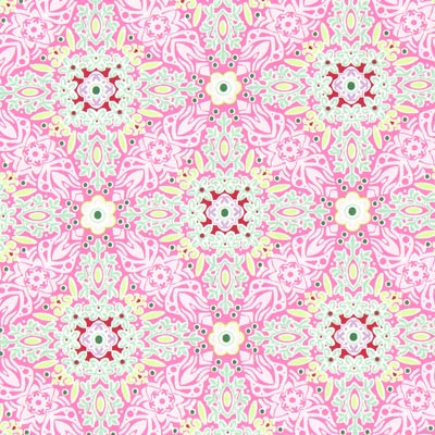 Jersey Long Island Garden – pink | Gütermann