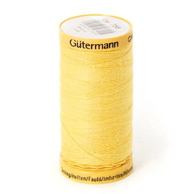 Gütermann Heftfaden Baumwolle (758) - senf