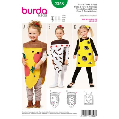 Pizza/Torte/Käse, Burda 2358