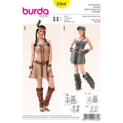 Ureinwohner, Burda 2364 | 32 - 42