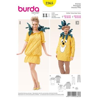 Ananas, Burda 2365 | 48–58 | 36 - 46