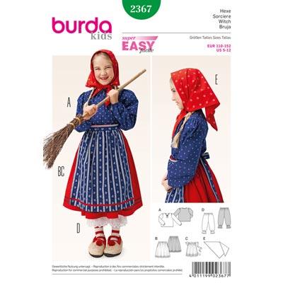 Hexe, Burda 2367 | 110 - 152