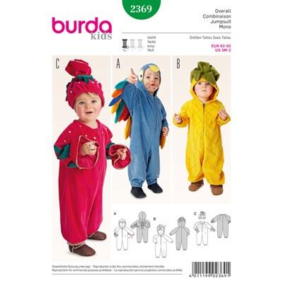Overall, Burda 2369 | 62 - 92